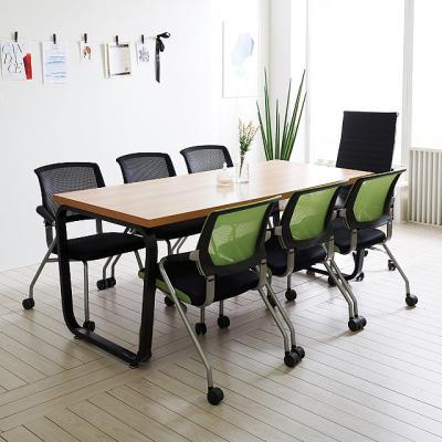 스틸뷰 1800 테이블+의자세트 책상