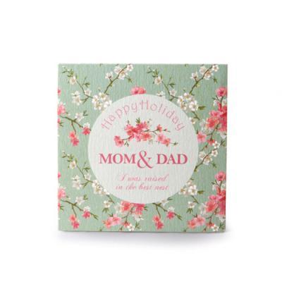 꽃 피는 맘 & 대드 카드