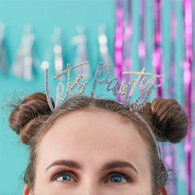 Lets Party 헤드밴드 머리띠 party head bands GR