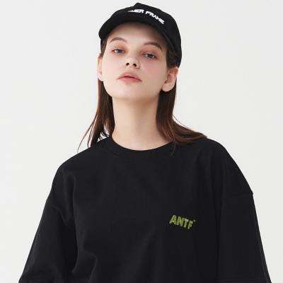 ANTF 뉴 그래픽 절개 반팔티 (블랙)