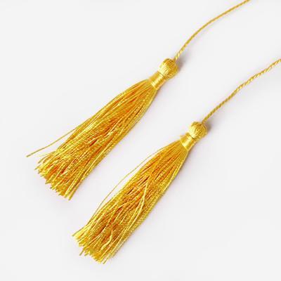 옐로우 연결 태슬 끈 (5개)