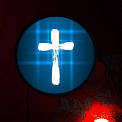 no096-LED액자45R_어둠속에서빛나는십자가