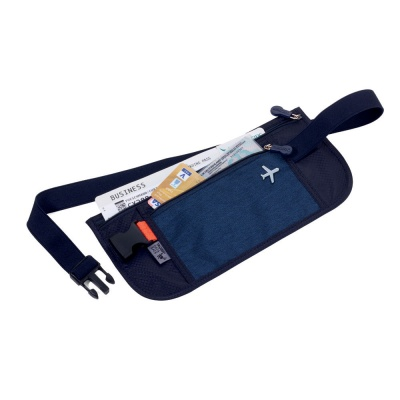 [TROIKA] 여행용 안전 복대 파우치 다크블루 BLB20/DB