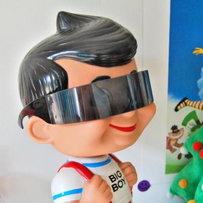 미래 로봇 파티 안경