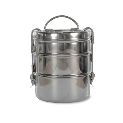 [Garden Trading]Stackable Tiffin Tin Stainless Steel TTSS01 복고풍 스테인레스 3단도시락