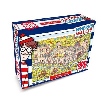 월리를 찾아라 직소퍼즐 800P 기사들의 성 공격