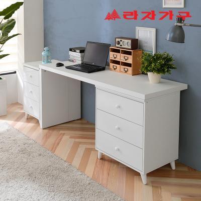 무노 책상+서랍장 세트 B형 1600