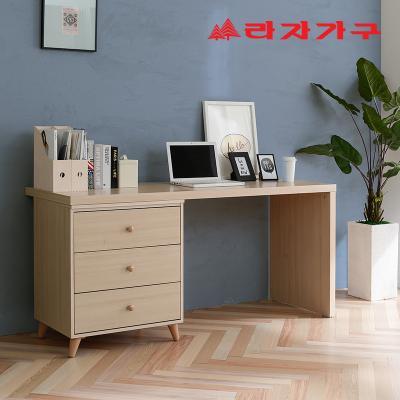 무노 책상+서랍장 세트 A형 1200