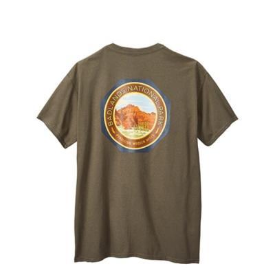[펜들턴] 배드랜드 내셔널 파크 로고 반팔 티셔츠