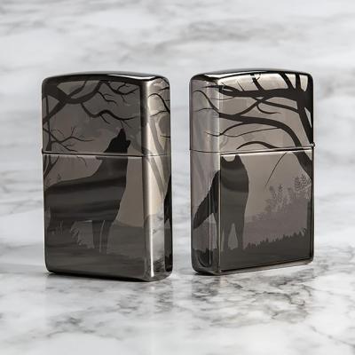 ZIPPO 49188 Wolves Design