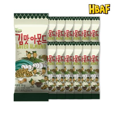 [길림양행] 김맛 아몬드 30g_12봉