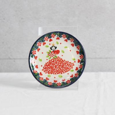 폴란드그릇 아티스티나 원형접시 10cm 패턴2520