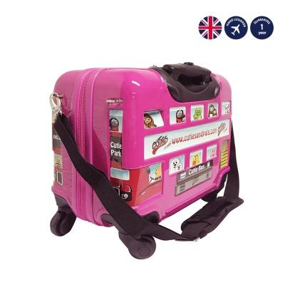 유아캐리어_런던 스티커버스 핑크(PINK)