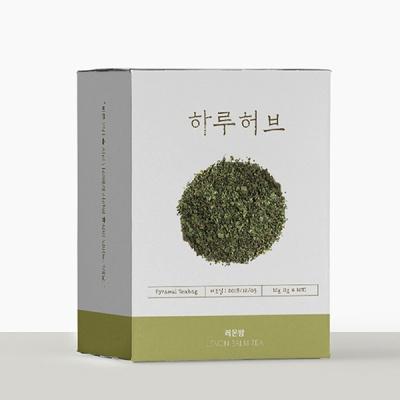 하루허브 레몬밤 삼각티백 10개입