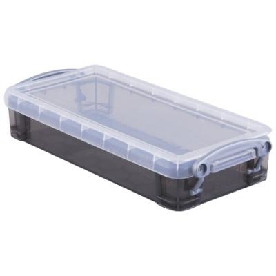[Really Useful] 클리어박스0.55리터 (Litre) 투명블랙 [개/1] 302637