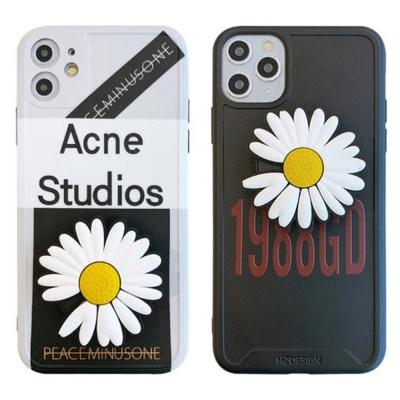 아이폰XR XS MAX 8 7/렌즈보호 국화꽃 스마트톡케이스