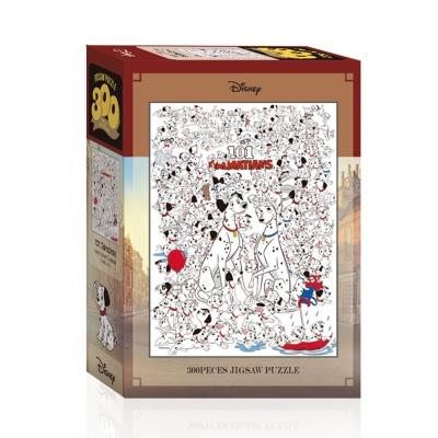 101마리 달마시안 와글와글 퍼즐 300피스 A03-007