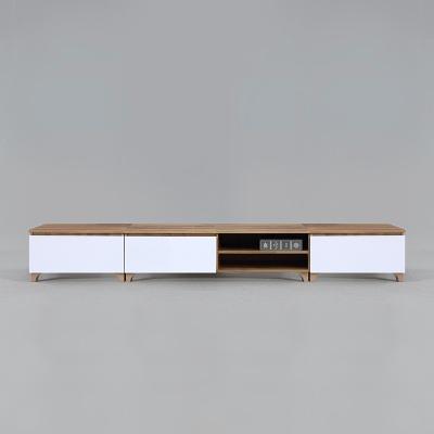 코루 오픈형 거실장 풀세트 2400 (착불)