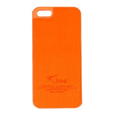 아이루 iroo 아이폰5 슬림가죽케이스 5컬러풀 iPhone5 LC4I5(오렌지)