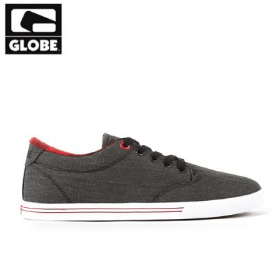 [GLOBE] LIGHTHOUSE SLIM (BLACK FADED DENIM)