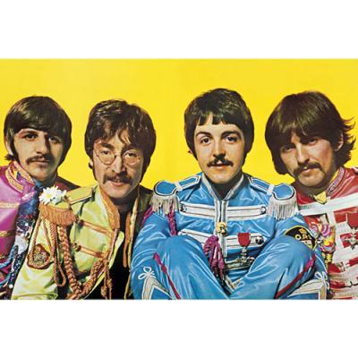 LP1179 비틀즈 론리 하트 클럽 (91x 61)