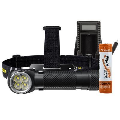 LED 헤드랜턴 세트 HC35-U10T 충전기 충전배터리 포함