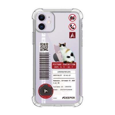 뮤즈캔 ADEEPER 아이폰 11 사진 전시회 티켓 케이스