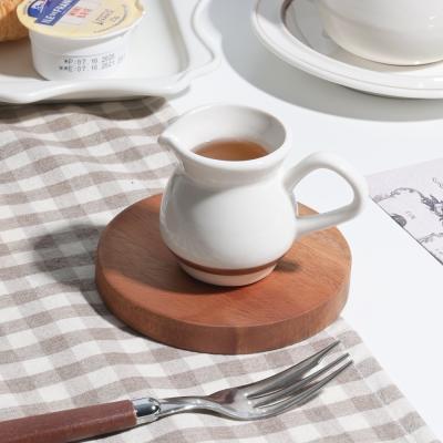데이 우드 코스터 컵받침 오브제 원형 / 카페 소품