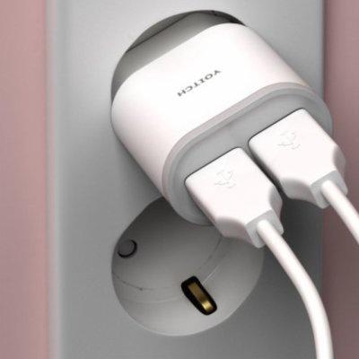 요이치 듀얼 USB 아답터 충전기 5v 2.1a