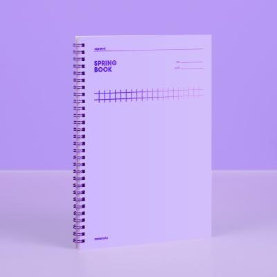 [컬러칩] 스프링북 스퀘어드 - 바이올렛 모트모트