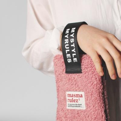 마약 스트랩 파우치 뽐뽐 _ Indi pink