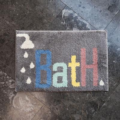 BATH 극세사 욕실 발매트 40x60cm