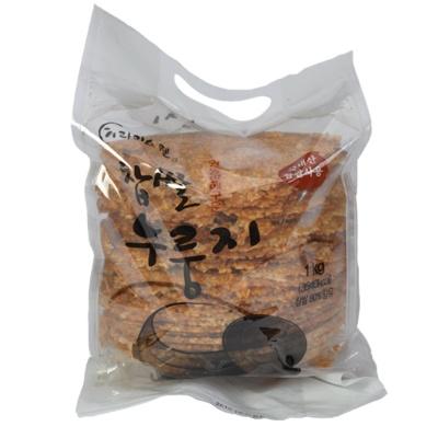 라이스웰 황동판에 구운 찹쌀 누룽지 1kg