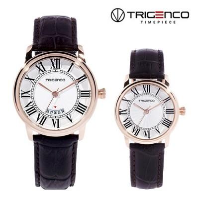 [Trigenco] 남/여 가죽손목시계 한정판매 제품