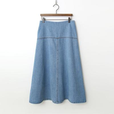 Agnes Denim Long Skirt