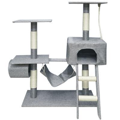 헬로망치 프리미엄 중형 고양이 직조 캣타워 GB520