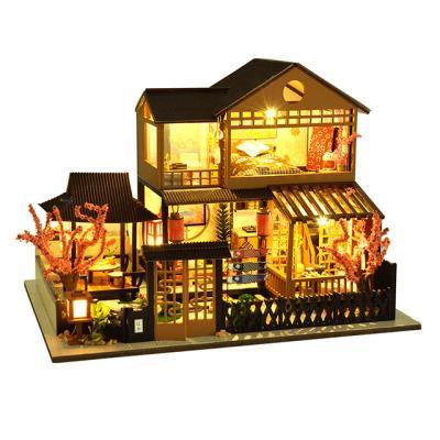 DIY 미니어처하우스 벚나무 객잔