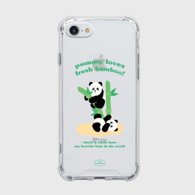 bamboo pummy [탱크투명 폰케이스]