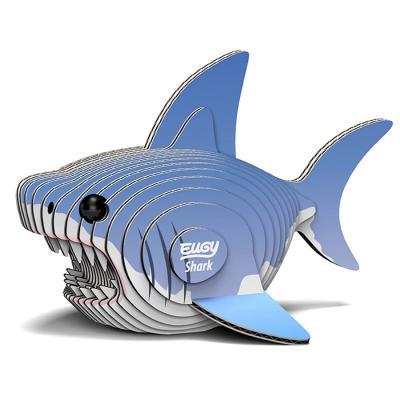 24피스 우드락 입체퍼즐 - 상어