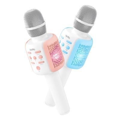 엑토 LED 휴대용 무선 블루투스 노래방마이크 MICS-08