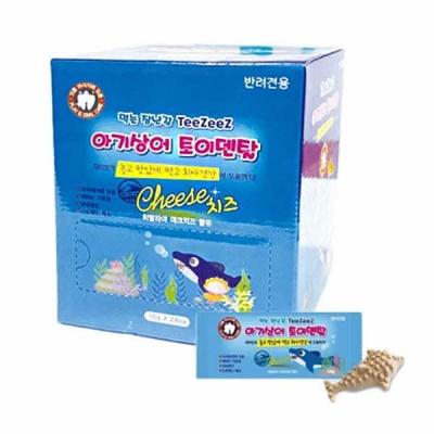 아기상어 토이덴탈껌 1박스-치킨&야크치즈 24개입 sj