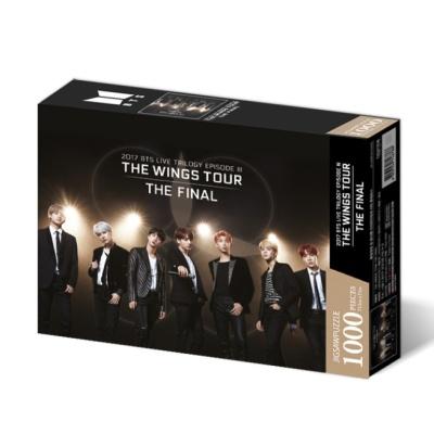 BTS 직소퍼즐 월드투어 포스터 - THE WINGS TOUR