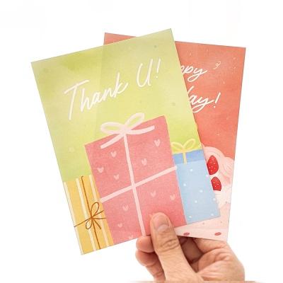 엽서카드 POSTCARD 따뜻한 마음 thank u