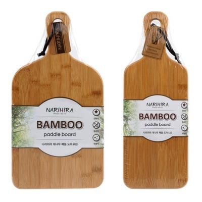 나리히라 대나무 패들 도마(대) 나무도마 주방도마