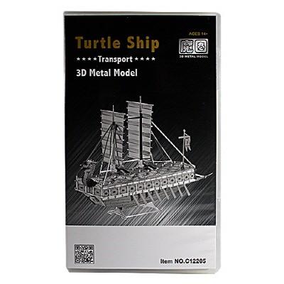 [3D메탈웍스] 거북선 (3DM540210) C22205 프리미엄팩 금속조립키트