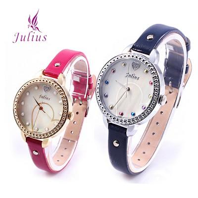 [JULIUS]줄리어스 JA822 시리즈 4종택1 여성 가죽손목시계 [본사정품]