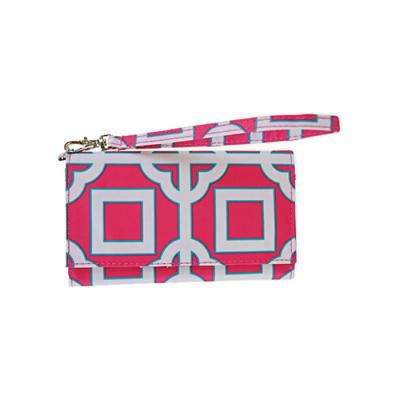 [ALL FOR COLOR]ID Wristlet_Pink-Charmer