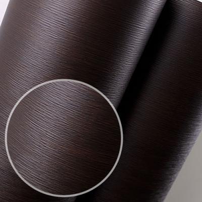 fp184-블랙소로 무늬목 필름지 인테리어필름 _인테리어필름
