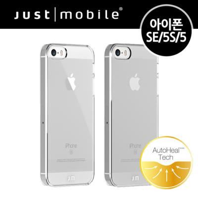 [Just Mobile] 자체복원 아이폰SE/5S/5 크리스탈 케이스