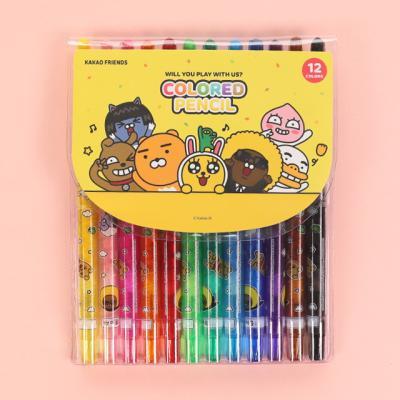 카카오프렌즈 색연필 12색 세트